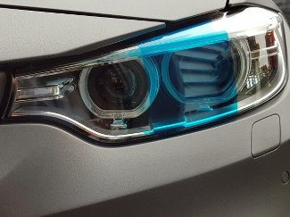 Blue Headlight & Tail Tint