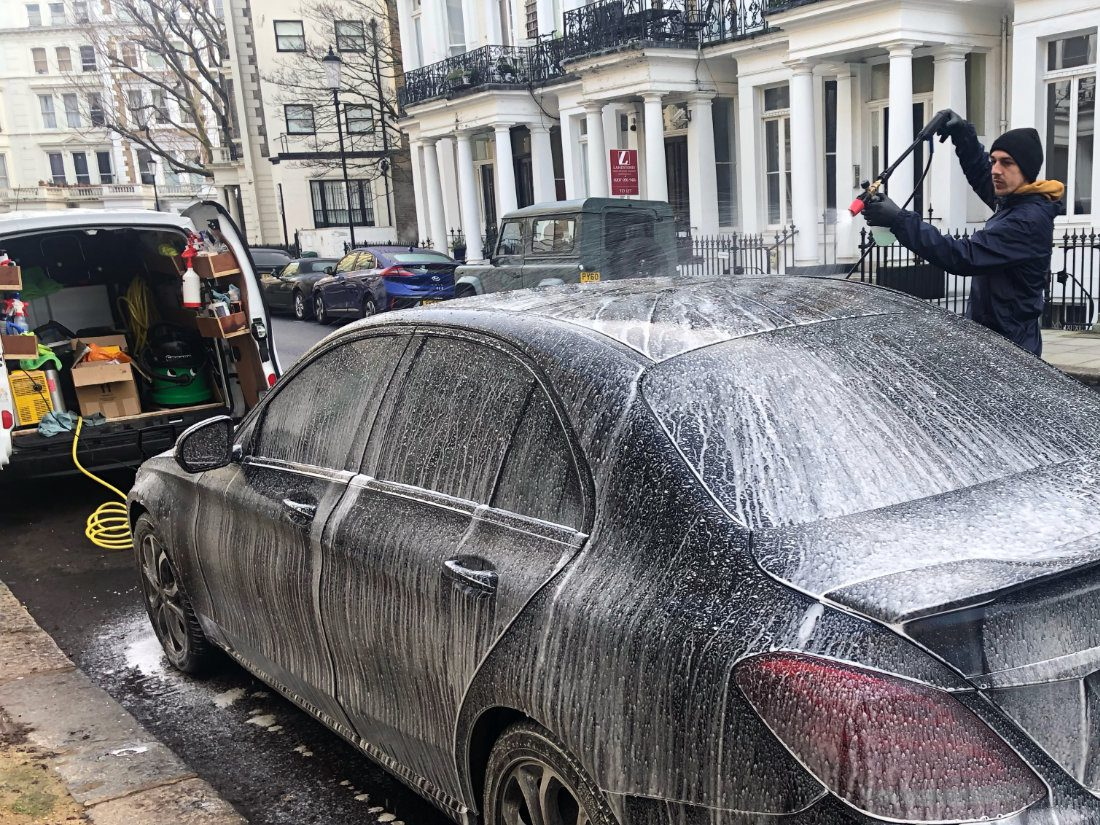 Mobile Car Wash in London