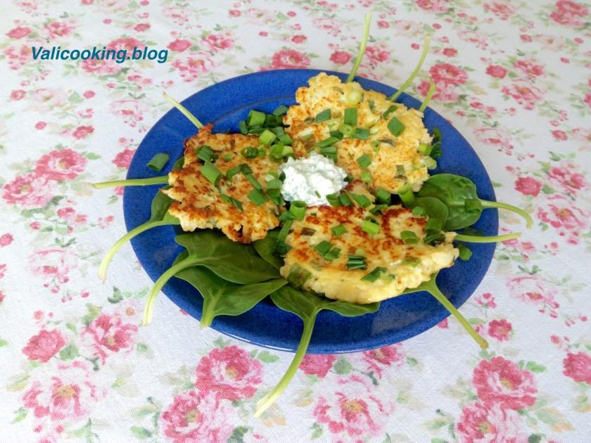 Cauliflower Pancakes