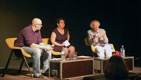 Leonhard Dobusch, Valie Djordjevic und Joost Smiers im HBC Berlin