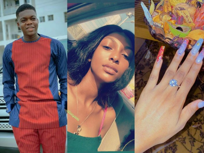 Adeherself Gets Engaged To Cute Abiola
