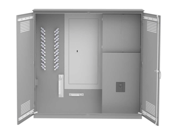 600A Single Phase Campground Distribution Power Center with CT Enclosure
