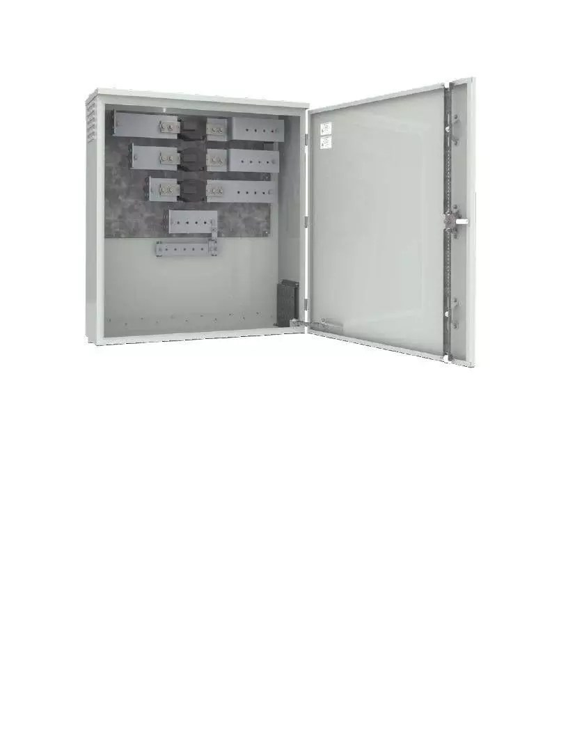 Sask Power Service Termination Enclosure