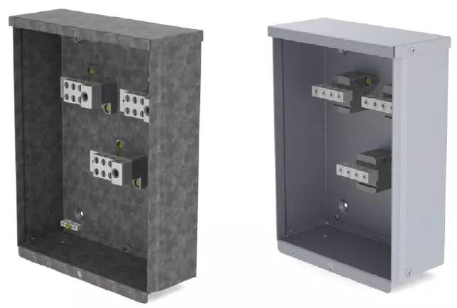 Weatherproof commercial Splitter Box 125-600A