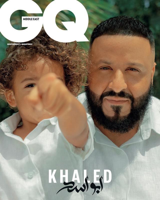 (GIST): Dj Khaled And Son Sturns GQ Magazine Cover