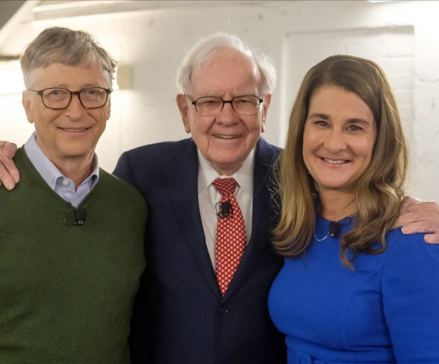 Bill Gates Celebrates His Best Friend, Warren Buffet