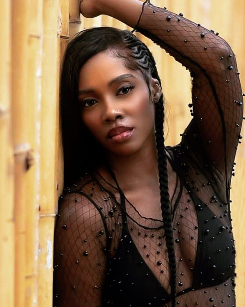 My Breast Belongs To Someone And He's Not Complaining – Tiwa Savage Replies A Troll