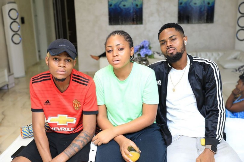 Regina Daniels And Her Brothers Twinning In These Pictures
