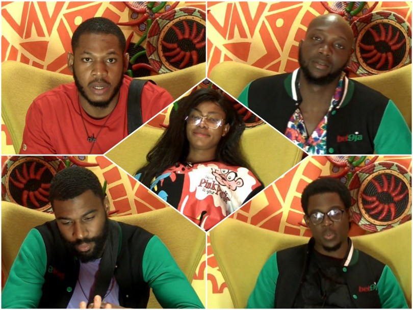 Big Brother Naija 2019: Day 15: Tacha, Mike, Tuoyo, Frodd And Seyi Are Up For Eviction