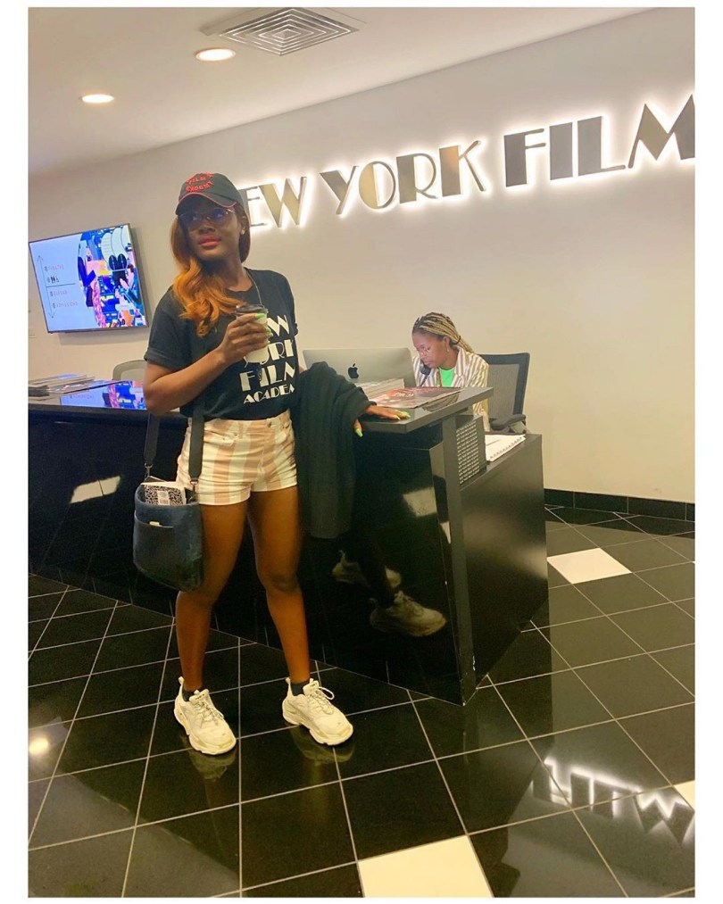 Alex Unusual now a student of New York Film Academy