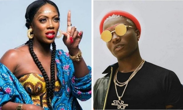 Wizkid has missed my calls because I wanted to ask him for money – Tiwa Savage