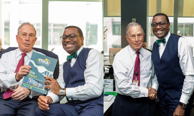 Akinwumi Adesina reveals a mind-blowing fact about America's Michael Bloomberg