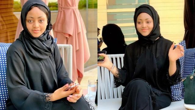 Actress Regina Daniels looks amazing in a hijab (see photos)