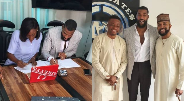 BBNaija's Mike signs first endorsement with Banky W's Empire Mates Ent