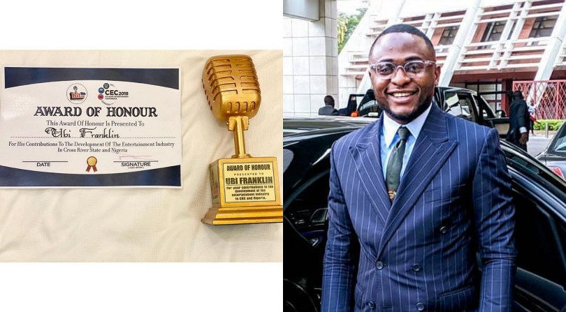 Business mogul Ubi Franklin receives Award of Honour