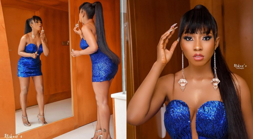 Mercy's BBNaija victory party was a blast, check out her expensive look