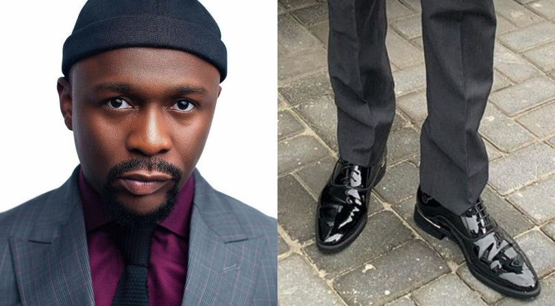 Na only this shoe you get? Fan asked comedian Ushbebe who he said wears only one shoe everyday