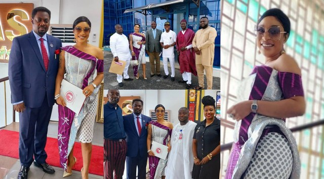 Tonto Dikeh Foundation announces partnership with CYMS and KAS PRINTS