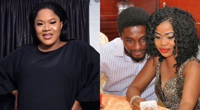 An ordinary maid sent your wife out and took over – A fan slams Toyin Abraham's ex-husband Adeniyi Johnson