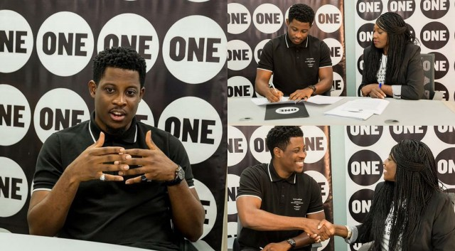 Seyi signs endorsement with ONE, officially becomes the ambassador