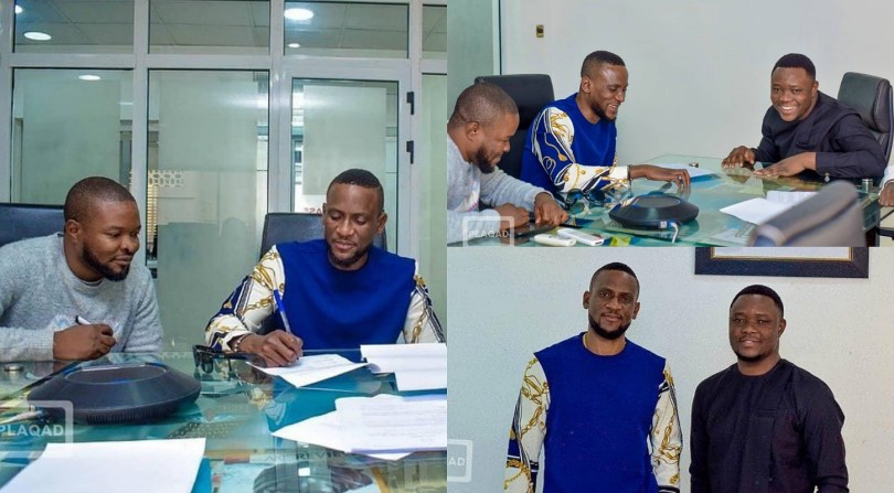 BBNaija's Omashola officially joins Plaqad Talent Programme