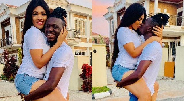 Comedian Akpororo celebrates 4 years marriage anniversary with wife, Ijeoma