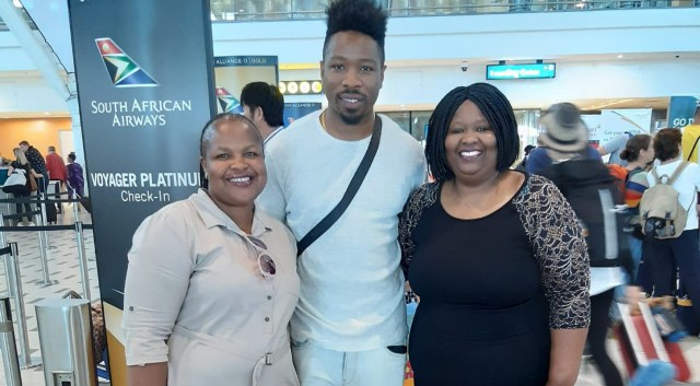 BBNaija: Ike ends his South Africa trip, jets back to Nigeria