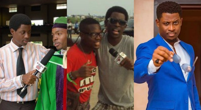 BBNaija's Seyi throws back some photos when he was pursuing his entertainment career