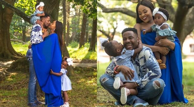 BBNaija host Ebuka shares adorable photos of his family