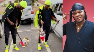 Of all the names in the world, singer Dimplez chose to name his pet monkey 'Tonto'