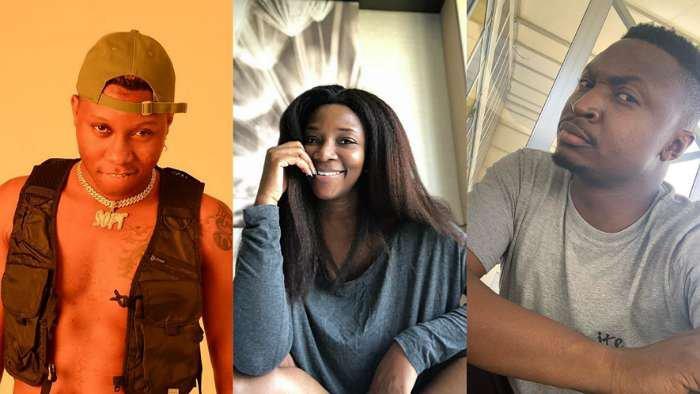 Comedian, Funnybone warns singer, Soft to stop stalking on his crush, Genevieve Nnaji