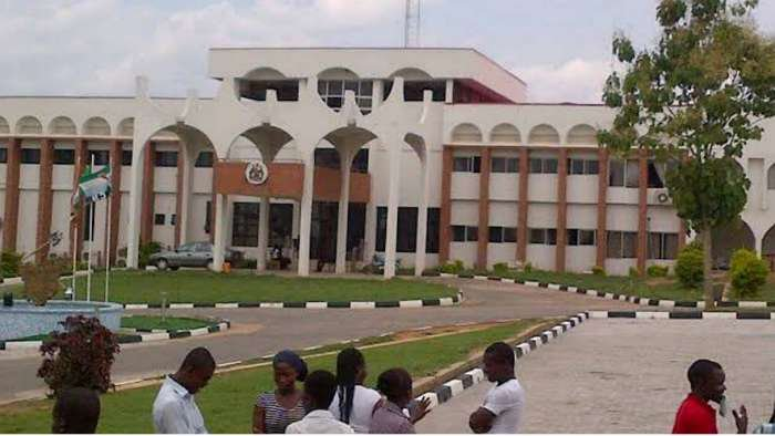 UniOsun student cries out after she was unfairly sent out of class for indecent dressing
