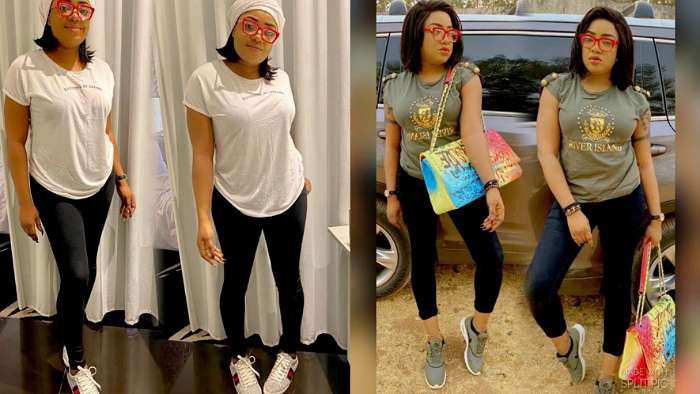 IG troll bashes actress, Sotayo for twisting her legs in a photo (screenshot)