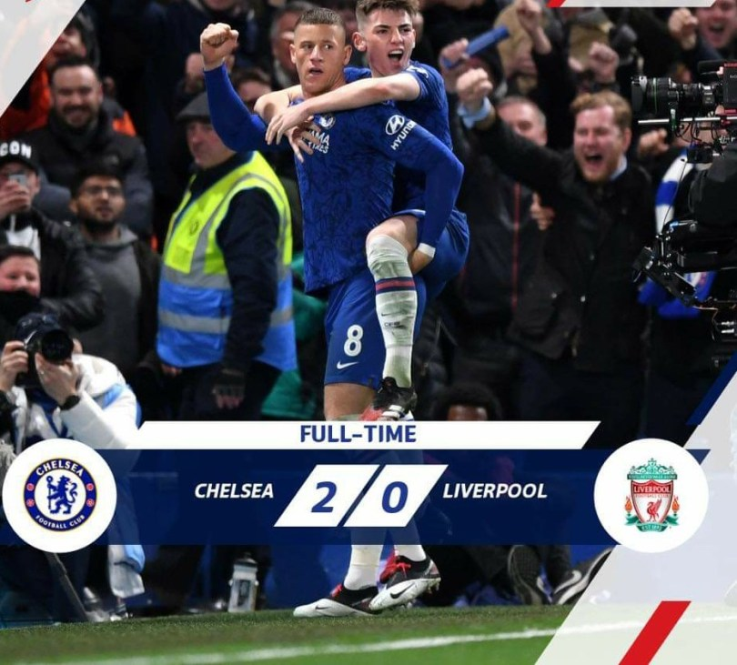 Chelsea eliminate Liverpool from the FA Cup