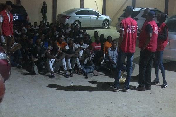 EFCC Raids Hotel, Arrest Owner with 79 Suspected Yahoo Boys