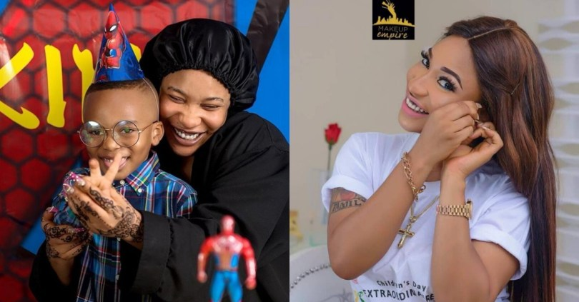 Divorced mum, Tonto Dikeh gives condition to men invading her inbox with love messages