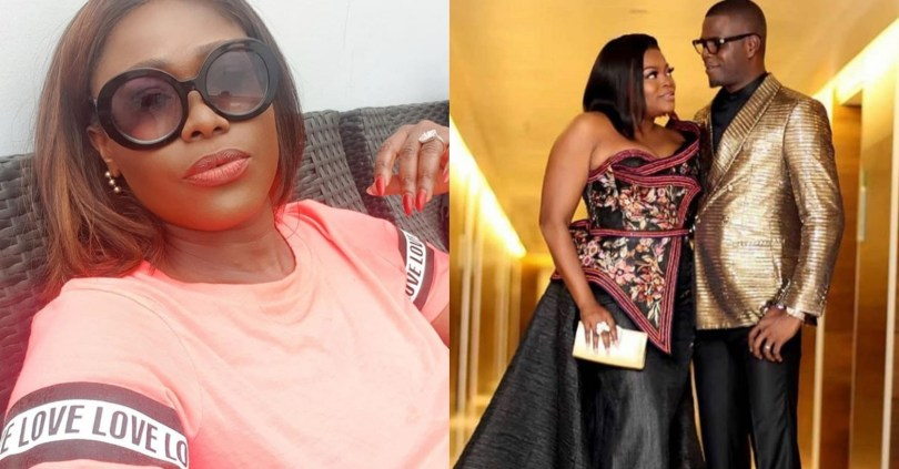 Actress, Uche Jombo condemns court action against Funke Akindele and husband, JJC
