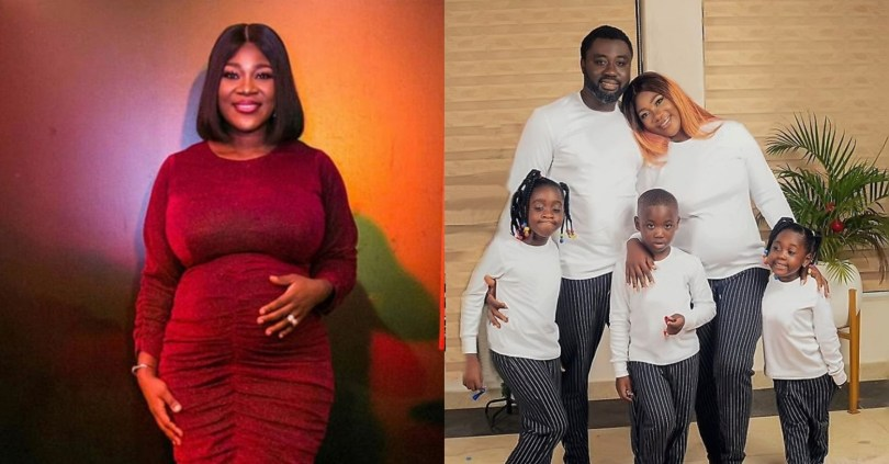 Mercy Johnson shares adorable photo of family as she sends heartwarming Easter message