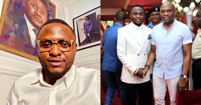 Ubi Franklin reveals UBA chairman, Tony Elumelu is his mentor