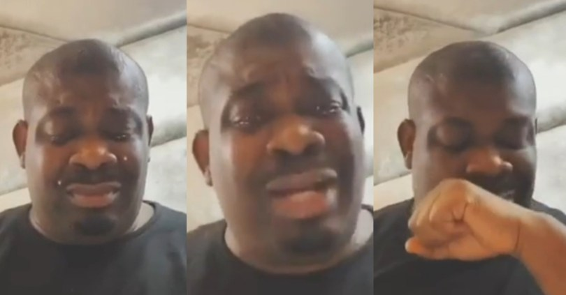 Don Jazzy Cries Uncontrollably, Opens Up On Why He's Not Yet Married
