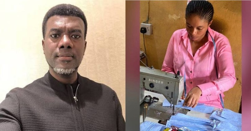 Reno Omokri lauds Made-In-Aba face masks, says Igbos are the greatest asset Nigeria has