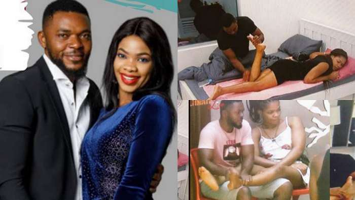 Ultimate Love's Chiddy Bankz reveals why he's always seen massaging Sylvia's feet