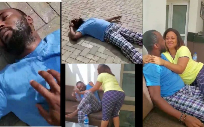 Ultimate Love's Kachi gives his partner, Rosie the prank of her life (watch video)