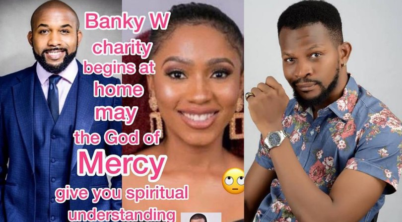 Uche Maduagwu blasts Banky W over his comment on some governors lifting public gathering ban