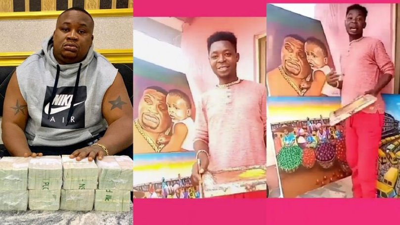 'I will change your life forever' – Cubana Chief Priest tells visual artist who made portrait of him and son