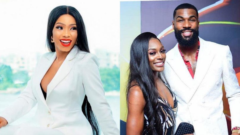 'Awww! Aunty Lambo loading' – BBNaija Mercy says as she congratulates expectant couple, Mike and Perri