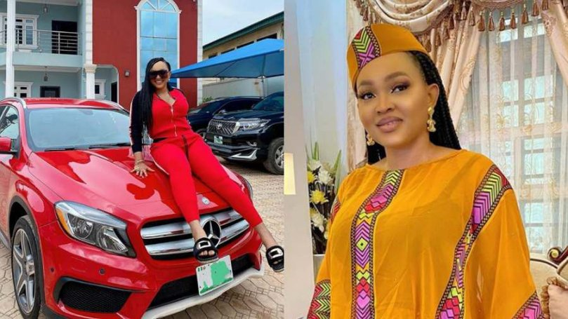 Actress, Mercy Aigbe finally joins Benz gang