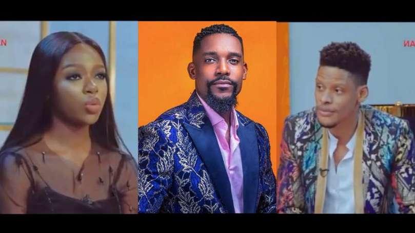 Day 17: BBNaija Pepper Dem Reunion: Elozonam reveals reason his relationship with Diane ended