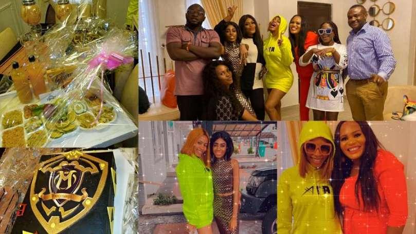 Mercenaries celebrate 1 year 'stanship' anniversary with BBNaija's Mercy Eke