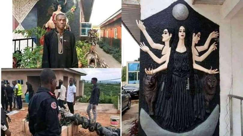 Founder church of satan, Ifekwe Udo arrested in Abia State